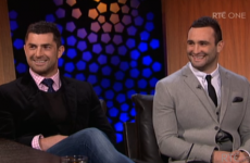Kearney brothers on 'electric' Irish fans, getting watery and BOD in latex