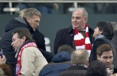 Man Utd linked with Toni Kroos as David Moyes pictured at Bayern game