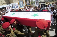 Syrian army units clash over anti-government protests