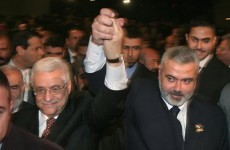 Israel rejects Palestinian government with Hamas