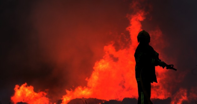 Ballymount blaze rated a 'Category 1′ incident by EPA