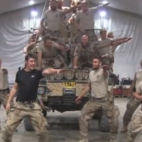This recreation of Greased Lightning by some Swedish Marines is camp and fabulous