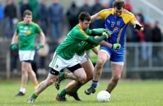 Celebrations for Leitrim footballers as they retain FBD League title