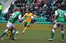 Celtic defender Virgil van Dijk hit an absolute corker today