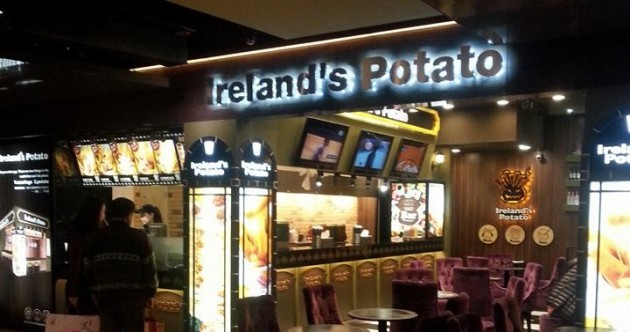 There's a fast food place in Taiwan called 'Ireland's Potato'