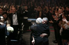 34 couples - including some same-sex pairs - got married at The Grammys