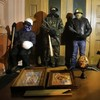 Ukraine teeters towards state of emergency as protesters occupy Ministry