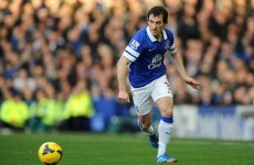 Hands off Moyes - Leighton Baines signs new four-year deal with Everton