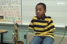 This 10-year-old born without arms wanted to play the trumpet... here's his inspiring story
