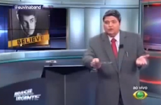 Angry TV presenter reacts *perfectly* to abuse from Justin Bieber fans