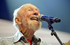 Folk legend Pete Seeger dies at 94