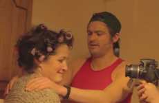 Making an adult movie... with an Irish mammy