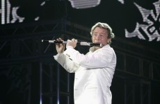 People are not impressed by Michael Flatley's rhino horn