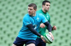 Brian O'Driscoll ready to 'empty the tank' as Ireland report clean bill of health