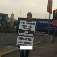 Roadside sign campaign gets unemployed dad 10 job interviews