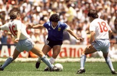 VIDEO: Relive Maradona's classic goal against England from a new camera angle