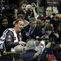 Manning declines to talk 'legacy' at Media Day