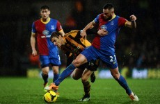 Losing start for Shane Long as Palace beat Hull