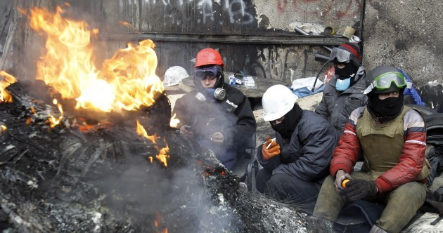 Ukraine could be on the verge of civil war