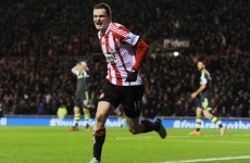 Adam Johnson hits the net again as Sunderland move out of the bottom three
