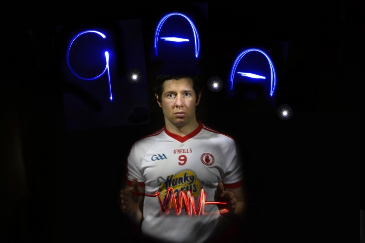 Tyrone's Sean Cavanagh at this week's Belfast launch for the competitions.