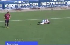 Italian club booted out of the league after players struck down by fake injuries