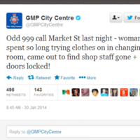 This 999 call from Manchester is your actual worst shopping nightmare