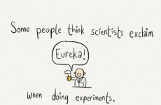 This doodle reveals what scientists are REALLY up to in the labs