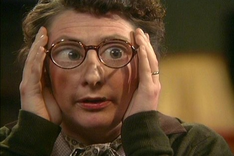Imagine Mrs. Doyle was Father Ted's ex-wife? Madness.