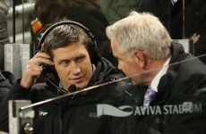 Ronan O'Gara will be on the RTÉ panel for the 6 Nations