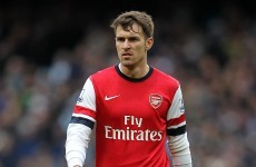 Arsenal lose Ramsey for up six weeks