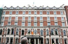 Man and teenager arrested over damage of valuable paintings at Shelbourne Hotel