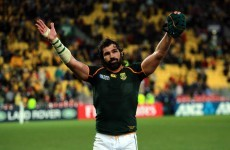 Victor Matfield returns to rugby after two years in retirement