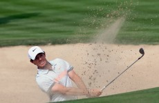 Gallacher storms past McIlroy into Dubai lead