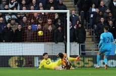 Shane Long opens his account for Hull to help earn draw with Spurs