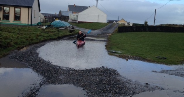 Massive potholes making Donegal road 'almost impassible' for local families