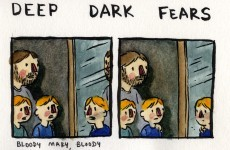 These illustrations of 'deep dark fears' will make you grimace