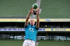Early blow: Chest infection takes captain O'Connell out of Scotland clash