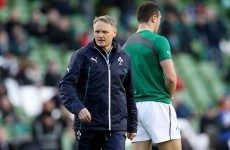 Schmidt: Wales have a 'massive advantage' with seven-day turnaround