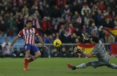 Four-star Atletico Madrid go top of La Liga for first time in 18 years