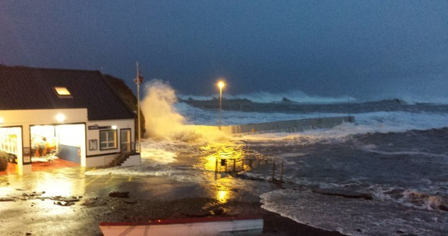 The waves in Bundoran were wild over the weekend