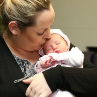 Pics: Meet Leona, the last baby born in Mount Carmel Private Hospital