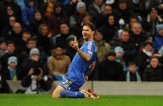 Ivanovic blasts Chelsea to victory as Man City's 20-game unbeaten run ends