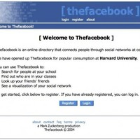 Here's what Facebook looked like when it launched this day ten years ago