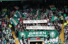 Celtic won't be punished over hunger strike banner