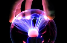 Touching plasma balls. It's not recommended, says EU report