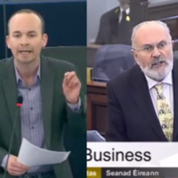 David Norris and Paul Murphy raise homophobia in Irish and EU parliaments