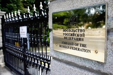 Russian Embassy, Dublin.