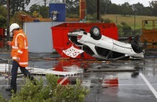 In Photos: Tornado strikes New Zealand city