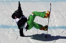 Ireland's snowboarder Seamus O'Connor through to semi-finals of Slopestyle
